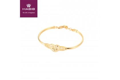 HABIB Aster Gold Bangle 916 Gold (5.66G)