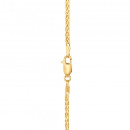 Oro Italia 916 Yellow Gold Necklace (13.37G) GC2413