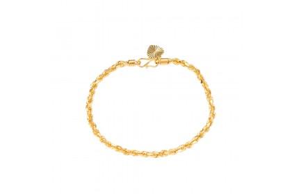 Pintal Solid Gold Bracelet (19.14G) GW070
