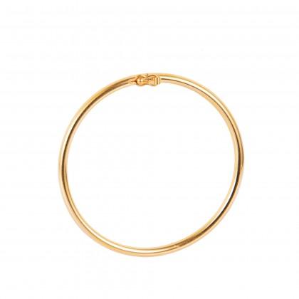 Vanlight Yellow Gold Bangle, 916 Gold (12.30G) GB021