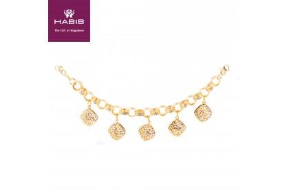 HABIB Caterina Gold Bracelet, 916 Gold (32.55G)