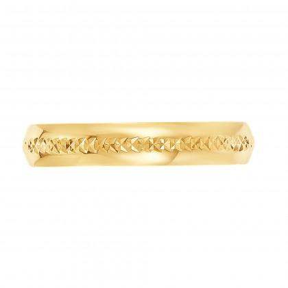 Oro Italia 916 Yellow Gold Ring (5.73G) GR45120221