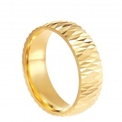 Oro Italia 916 Yellow Gold Ring (4.35G) GR45190221