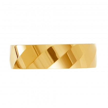 Oro Italia 916 Yellow Gold Ring (4.47G) GR45220221