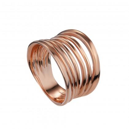 Oro Italia 916 Rose Gold Ring (9.76G) GR4287(R)