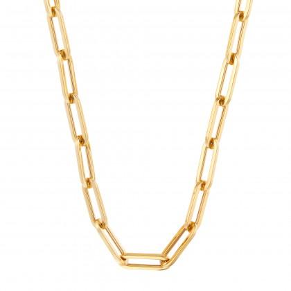 Oro Italia 916 Graffetta Yellow Gold Necklace (36.40G) GC25421220