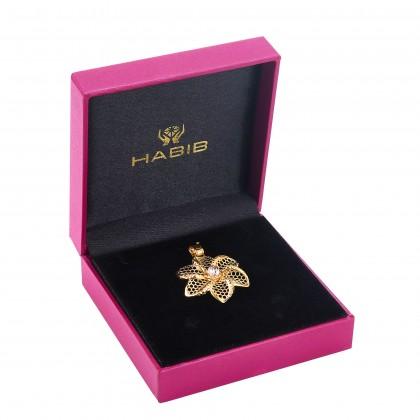 Oro Italia 916 Yellow and Rose Gold Pendant (7.46G) GP51450521(YR)-BI