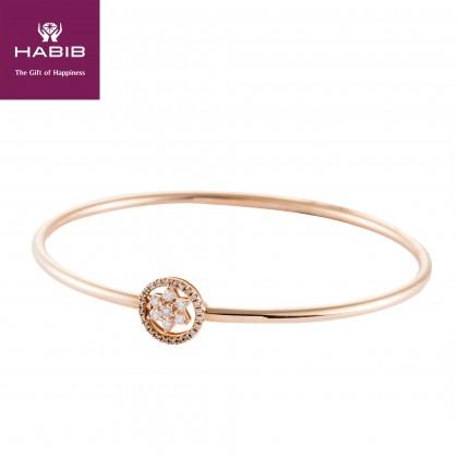 Banoo Diamond Bangle in 750/18K Rose Gold 67855