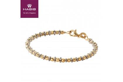 HABIB Oro Italia Emersyn Gold Bangle, 916 Gold (8.88G)