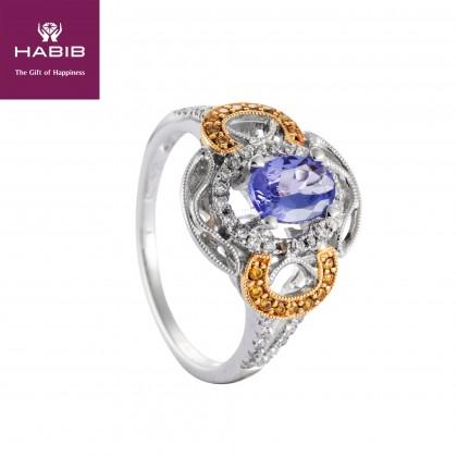 Diana Tanzanite Diamond Ring