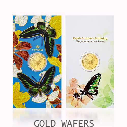 GOLD WAFERS