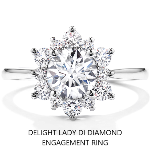 Delight Lady Di Diamond Engagement Ring