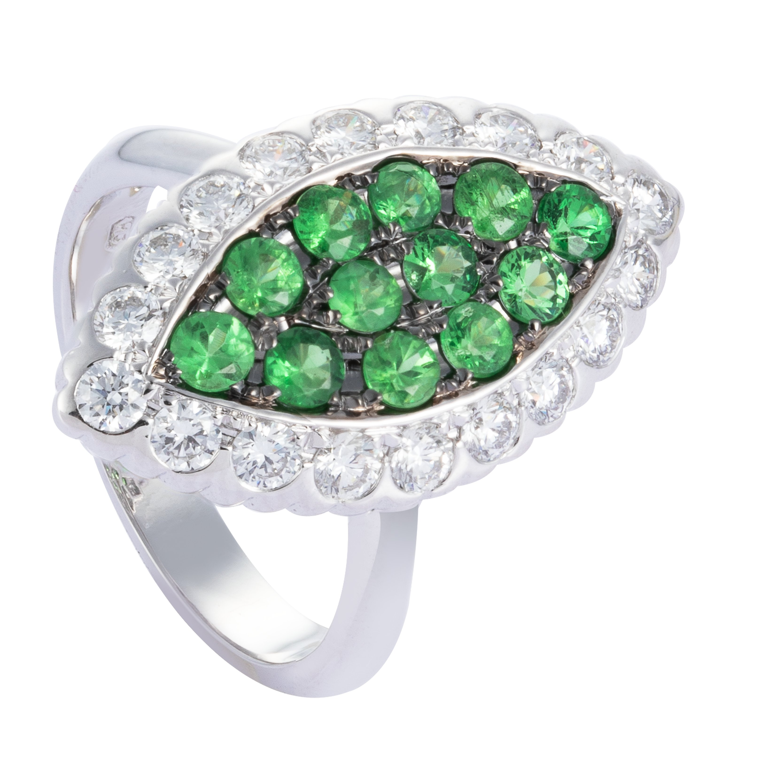 January Birthstone: Garnet & Tsavorite